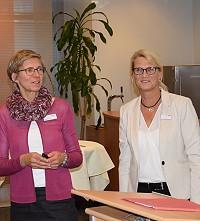 Susann Dreßler und Kollegin