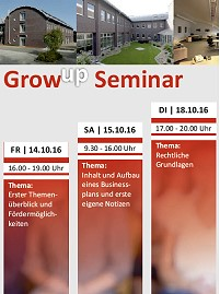 GrowUp-Seminar im Meldorfer CAT